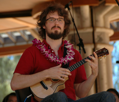 Picture of James Hill at the 2008 Hawaii Ukulele Festival