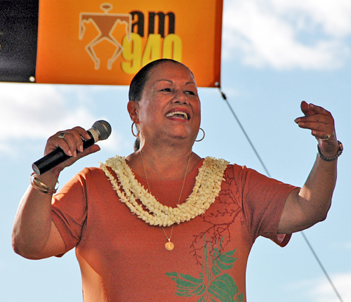 Marlene Sai at Celebration Aumakua in 2008